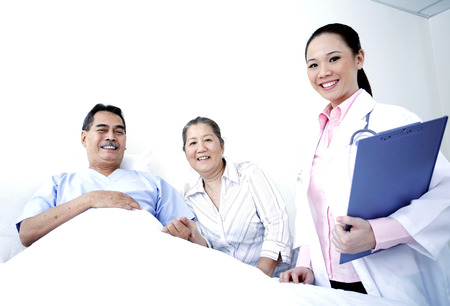 satisfy: Caring for patient