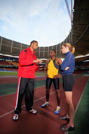 actief luisteren: Coach sport instructie geven