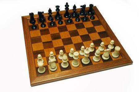 look of chessboard in start position