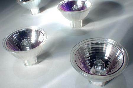 group of lightbulb on light background Stock Photo - 606877