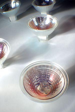 group of lightbulb on light background Stock Photo - 606878