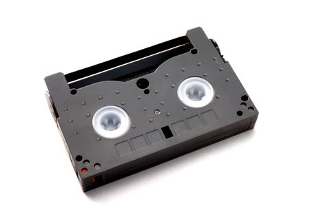 superseded: small video tape on white background