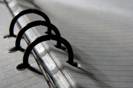 closeup of notepad photo
