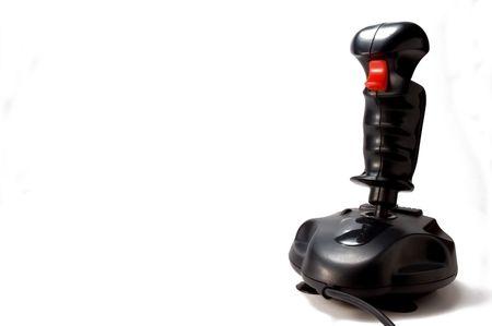 joystick on white background