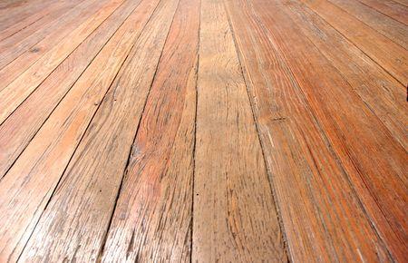 wooden floor closeup, perspective view