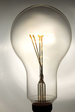 lightbulb closeup Stock Photo - 2065511