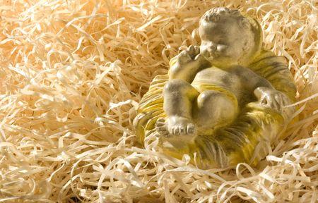 figure of baby Jesus Standard-Bild