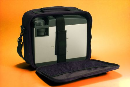LCD Projector in bag Stock Photo - 2863977
