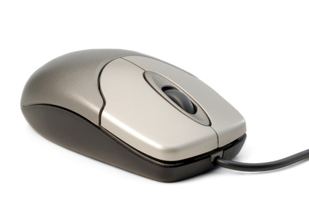 computer mouse in white background