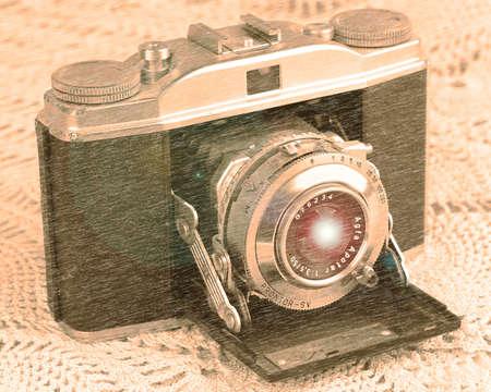 35mm: 35mm Camera News Edition Stock Photo