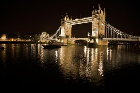 Tower bridge in London Standard-Bild