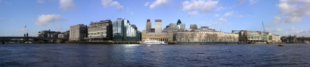 London City architecture from the Thames river Stock Photo - 13843712