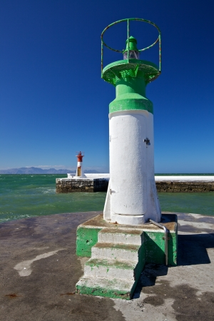 Lighthouse in Cape Town photo