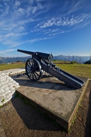 Long Tom gun from the Boer War photo
