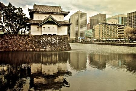 도쿄에있는 임페리얼 팰리스