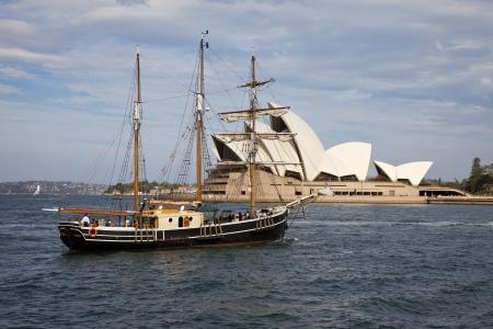 시드니 오페라 하우스 (Sydney Opera House) 스톡 콘텐츠 - 14140847