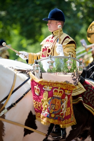 elizabeth: Trooping of the Color, London, 2006