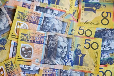 australian money: Australian dollars, bank notes