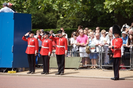 Trooping of the Color, London, 2006.