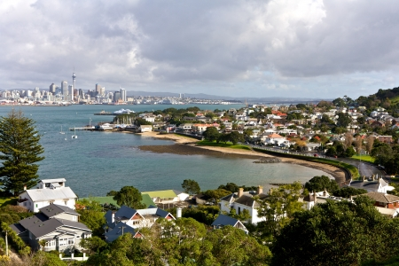 Auckland city in New Zealand