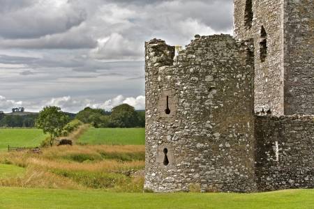 Threave Castle ruins surrounded by pastures in Scotland Stock Photo - 14304819