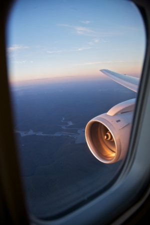 Planes View, flying