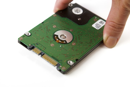 Hard Disk Drive for a Computer, isolated Stock Photo - 14328336