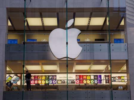 magasin: Achats Apple Store pour les ordinateurs � Sydney, en Australie. New York Company bas�e sur