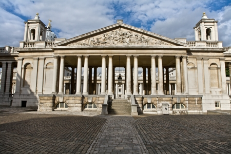 Architecture of the Royal Naval College and University of Greenwich, London, UK Stock Photo - 14406257