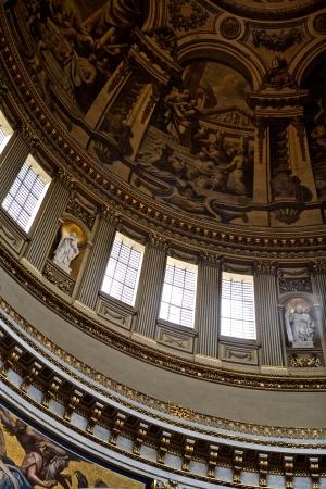 britannia: Church Interior, St Paul Editorial