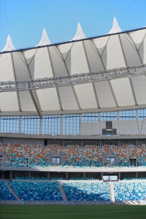 stadium  durban: Stadium for Soccer in the city of Durban, South Africa  Editorial