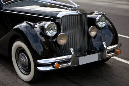 Rolls Royce with the famous flying lady