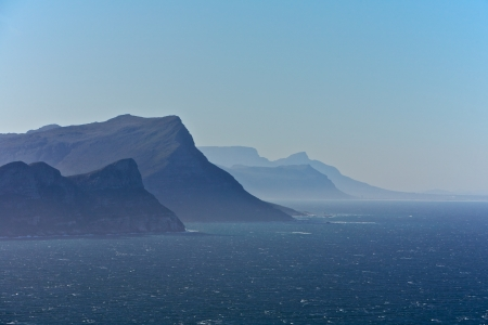 cape of good hope: Cape Point in Cape Town, South Africa