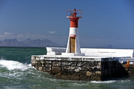 Lighthouse Towers in Fish Hook in Cape Town, South Africa photo