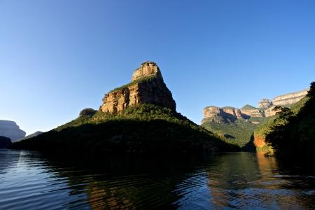 Blyde River Canyon en de drie rondovels in Mpummalanga, Zuid-Afrika