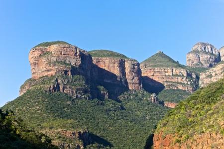 남아프리카, 말 푸마 랑아 (Mpummalanga)에있는 세 가지 론도네 스톡 콘텐츠