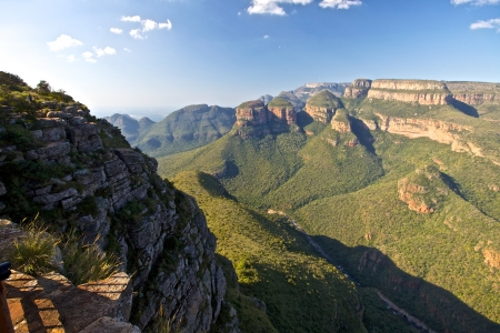 Blyde River Canyon and the three rondovels in Mpummalanga, South Africa