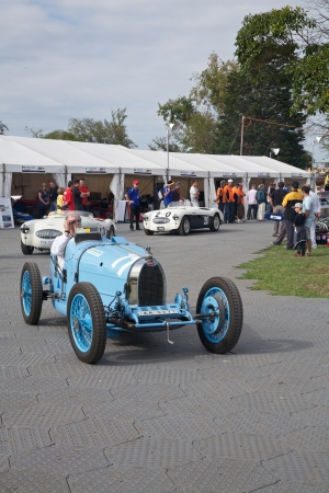 Melbourne Formula One Bugatti and Other Racers Like the Austin Healey in 2010