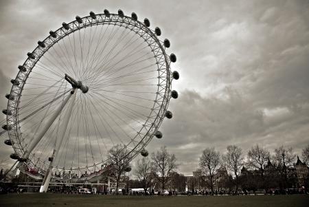 London Eye in London, United Kingdom Editorial