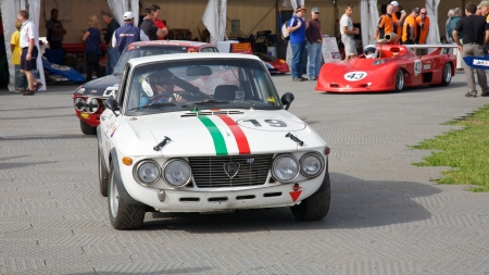 turns of the year: Melbourne Formula One Lancia and Other Racers 2010