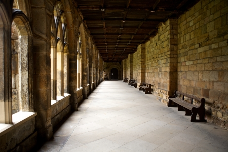 Durham Cathedral in England, United Kingdom Editorial
