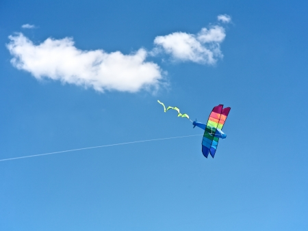 Kite flying in the sky Stock Photo - 15841304