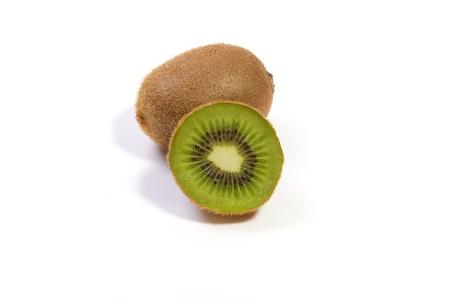 kiwi fruta: Kiwi, aislado Foto de archivo