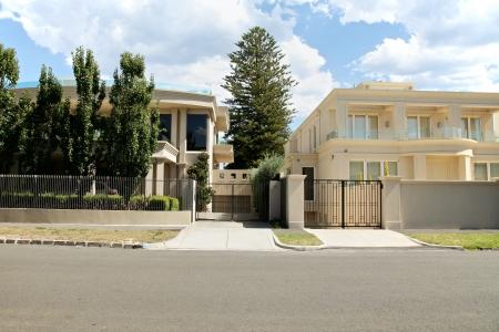 맨션 홈 멜버른, 호주에있는 스톡 콘텐츠