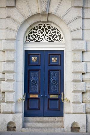 Grand door, home Stock Photo - 15970258