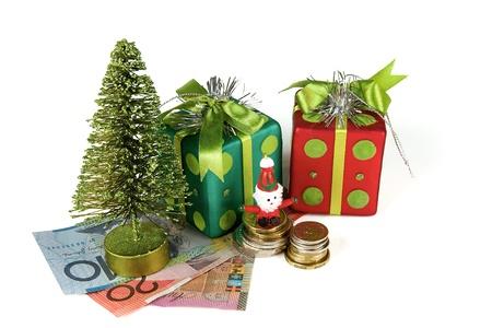 australian money: Christmas Time, Spending money