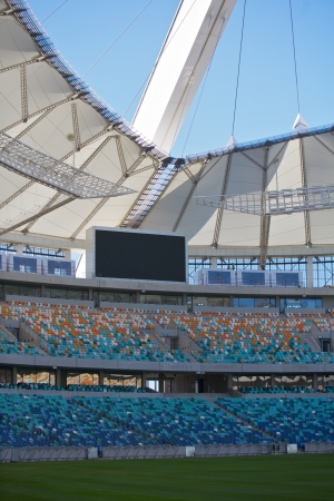 Football stadium in Durban, South Africa