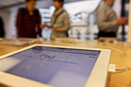 Apple Computer Store Redactioneel