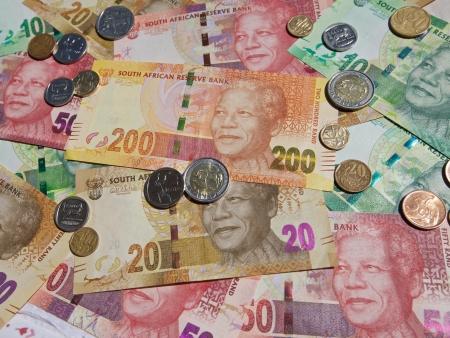 New bank notes printed 2012, South Africa