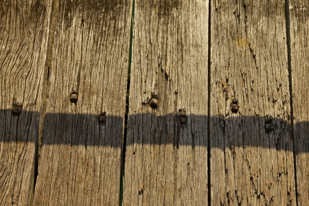 Weathered floor boards photo